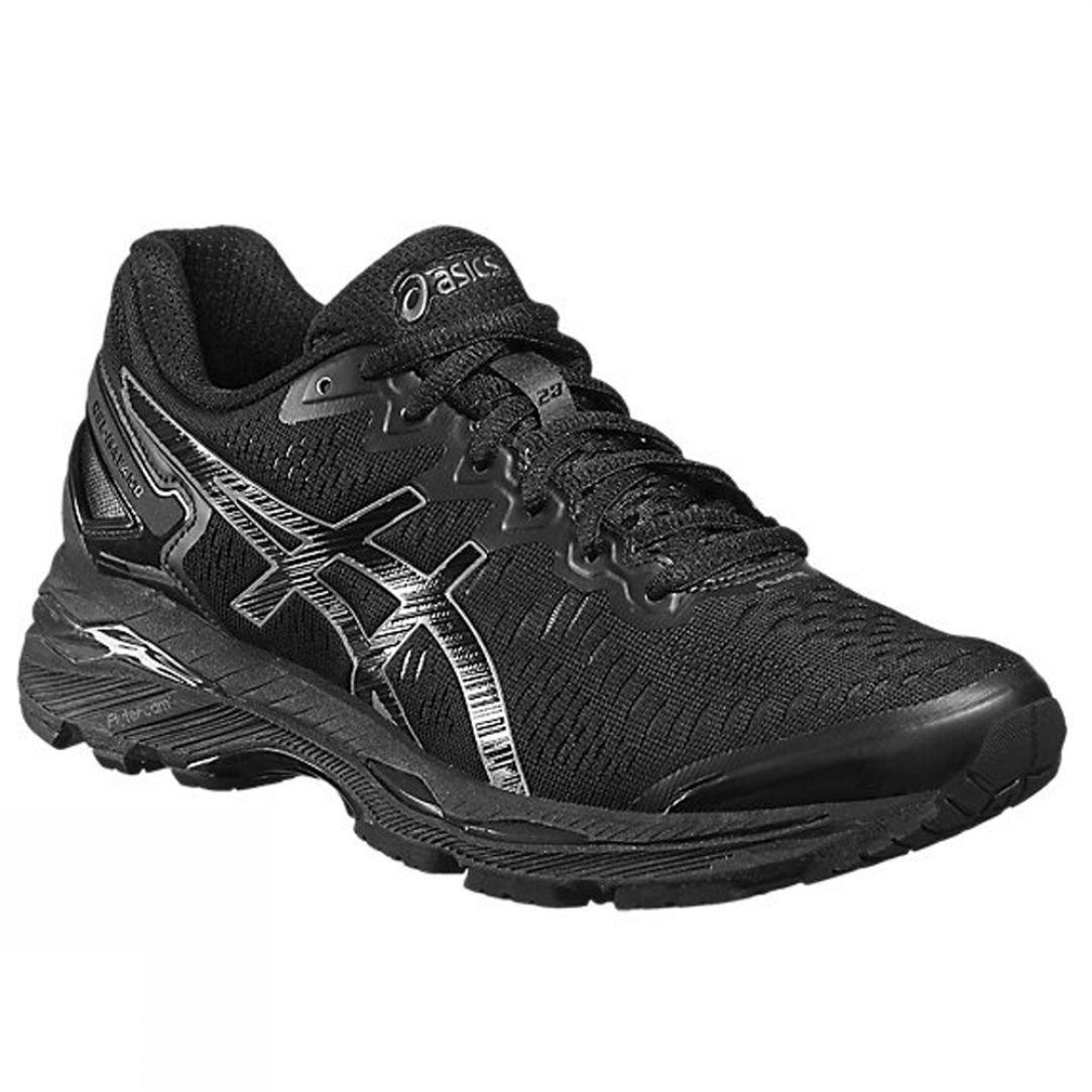 asics black runners